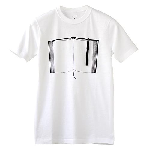 Tシャツ「ペンとノート」