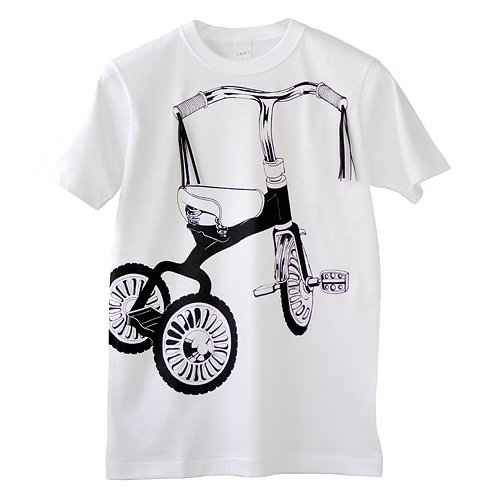 Tシャツ「三輪車」